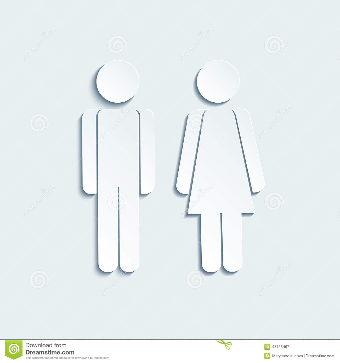 men s bathroom sign vector. Vector Man And Woman Icons For Toilet Or Restroom Men S Bathroom Sign O