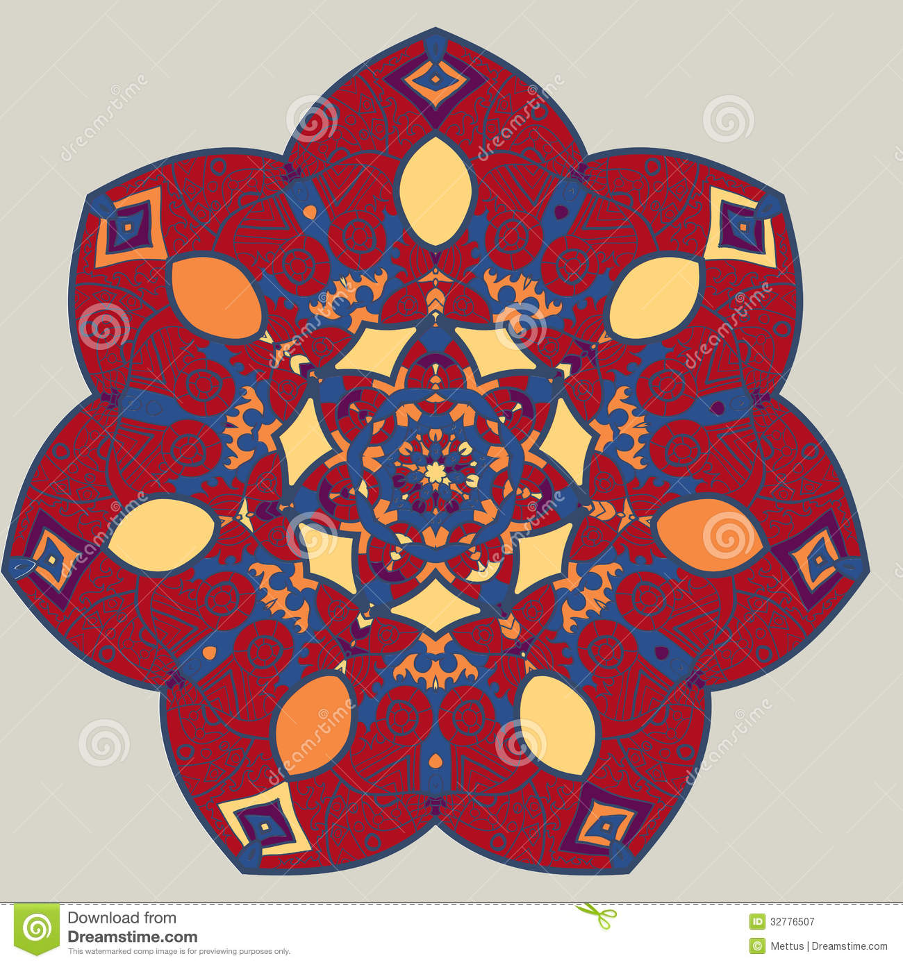 Vector Mandala Royalty Free Stock Photography Image