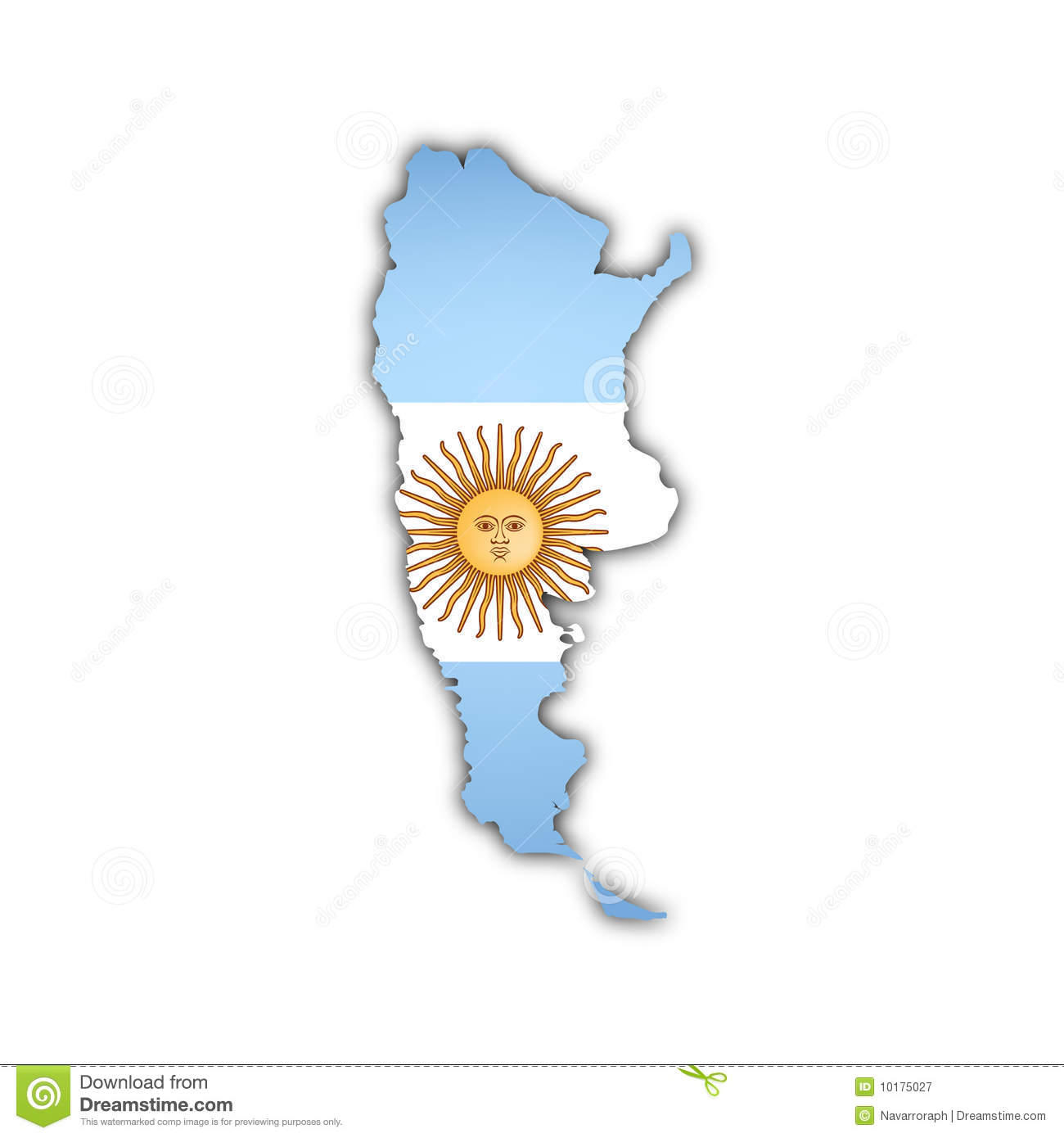 Vector Map Of Argentina Royalty Free Stock Photography Image - Argentina map download