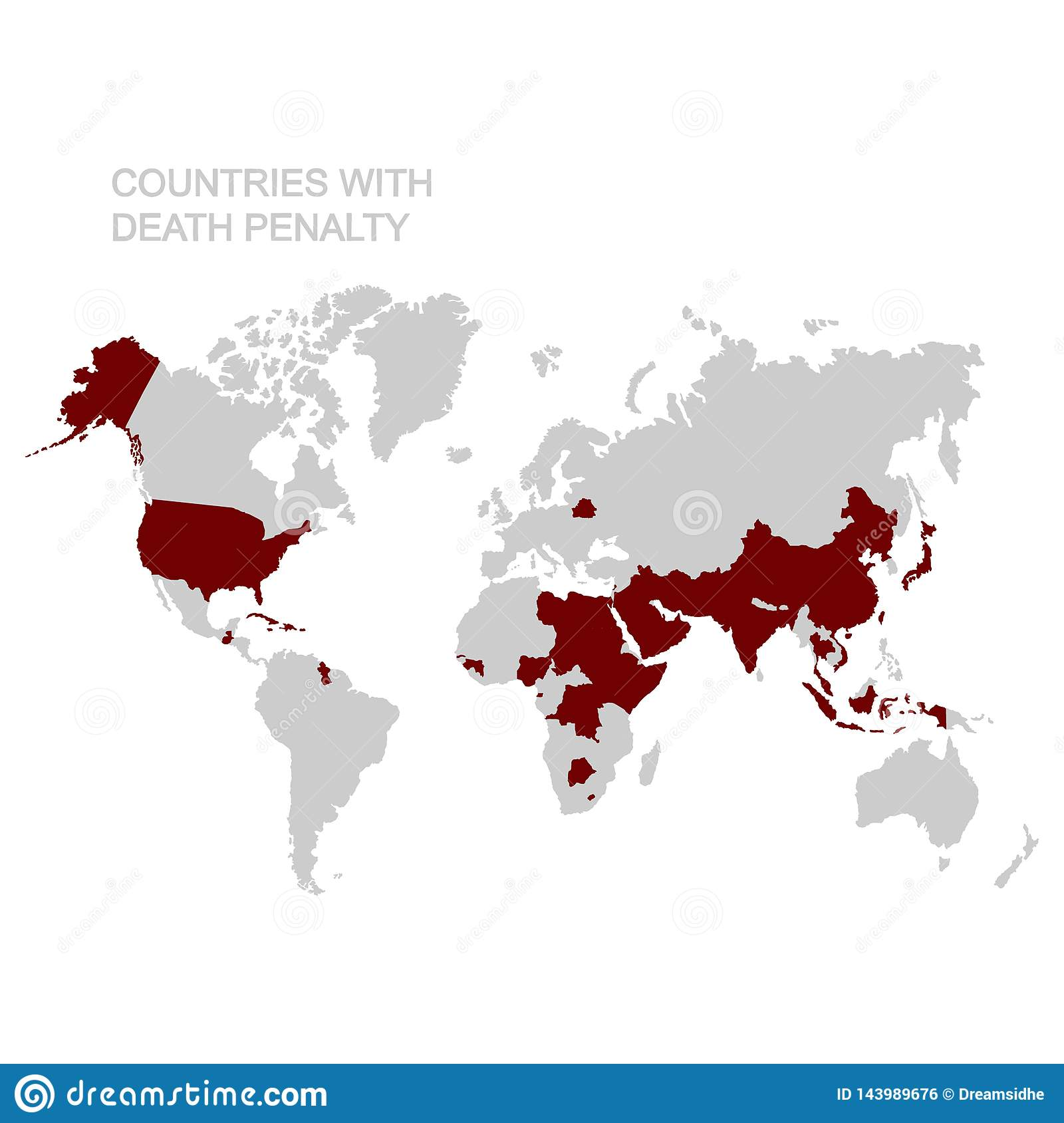 Penalty World Map on