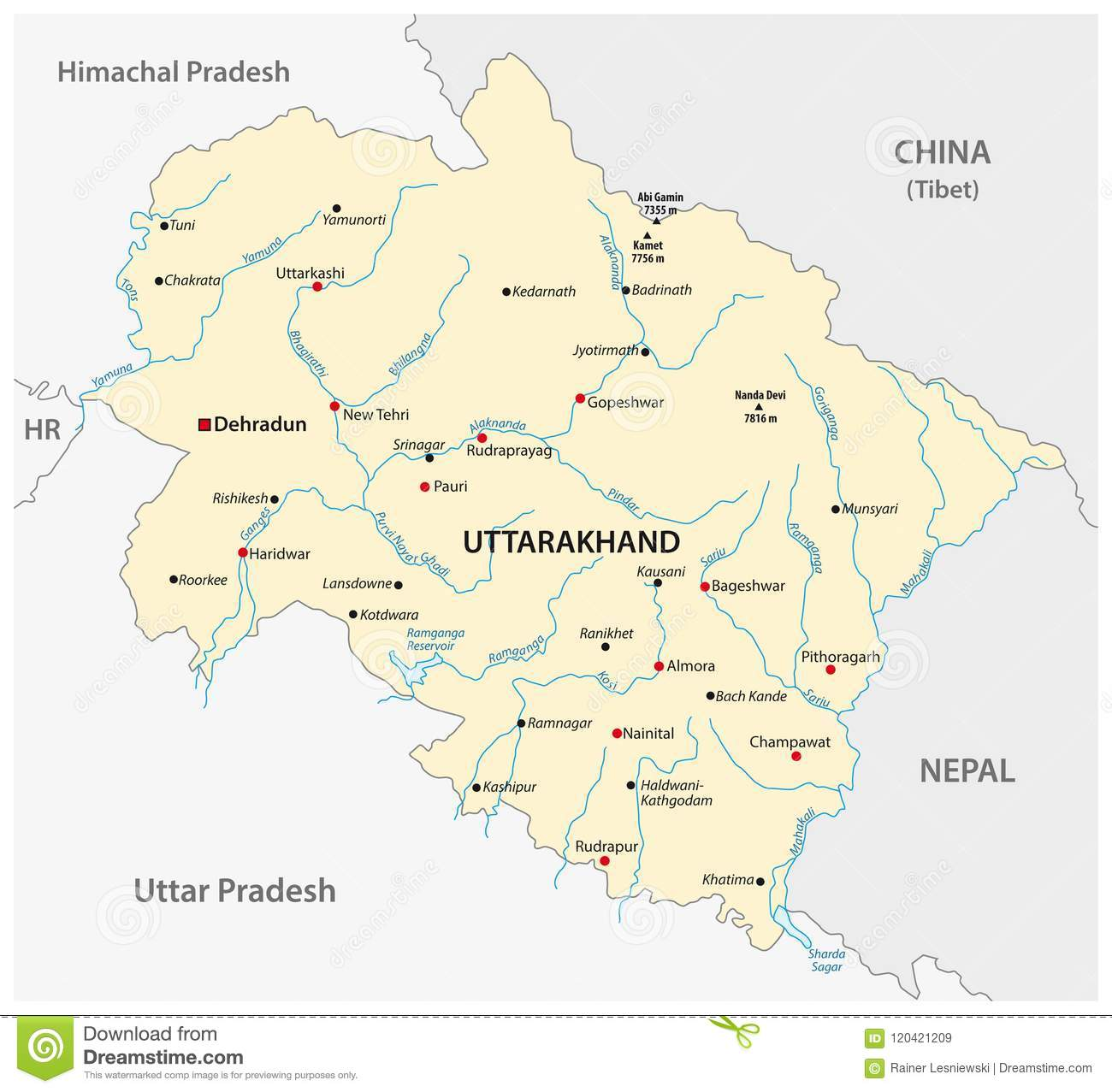 Vector Map Of The North Indian State Of Uttarakhand, India ... on india city map, india clear map, india floral designs, india boundary map, india landscape map, india wall map, india world heritage sites map, india base map, india solid map, india and pakistan border dispute, india caste system map, india green map, india henna map, india bangladesh border, india london map, bangladesh map, india travel map, india watershed map, india border art, india center map,