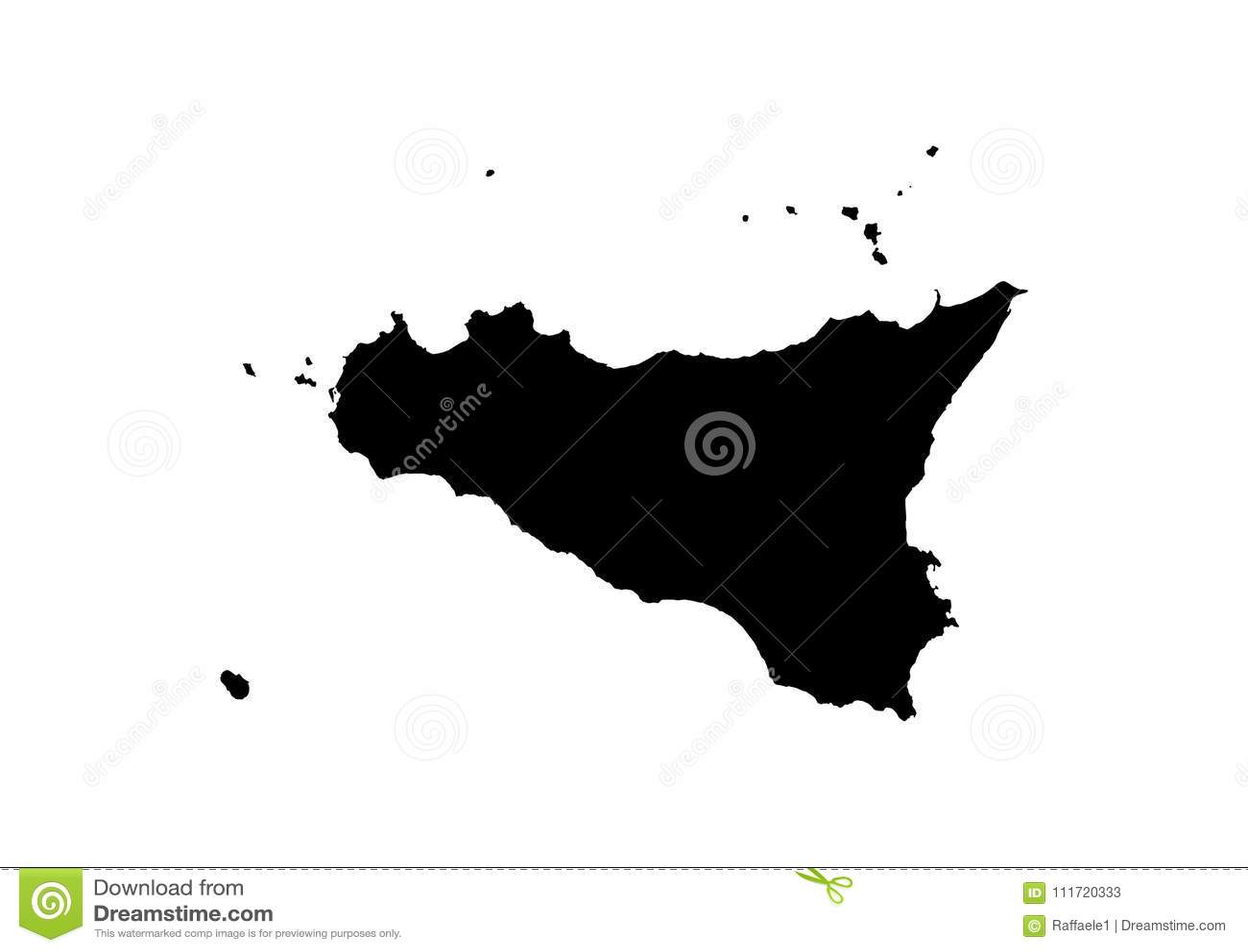 World landmarks silhouette Images, Stock Photos & Vectors ... |Sicily Landmark Silhouette