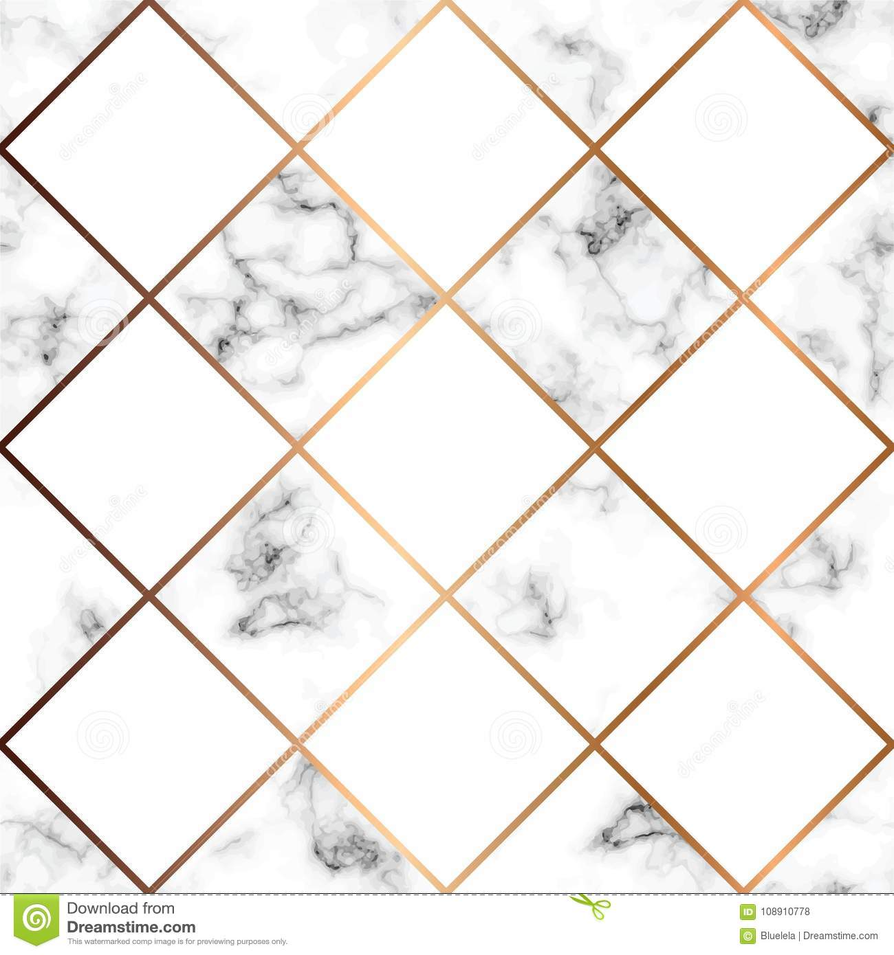 Vector Marble Texture, Seamless Pattern Design With White ...