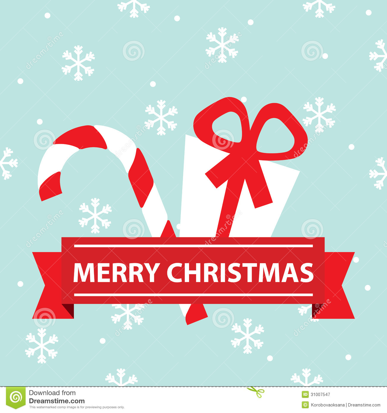 Bon Vector Merry Christmas Card. Funny, Elements.
