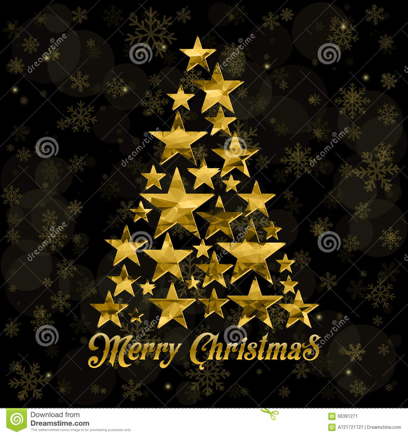 Vector Merry Christmas And Happy New Year 2016 Greeting Card