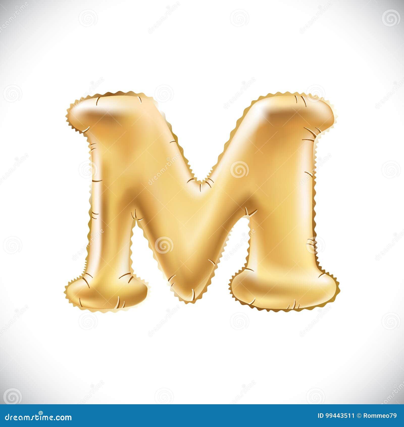 3d helium element stock illustration illustration of laboratory balloon letter m realistic 3d isolated gold helium balloon abc alphabet golden font text biocorpaavc Gallery