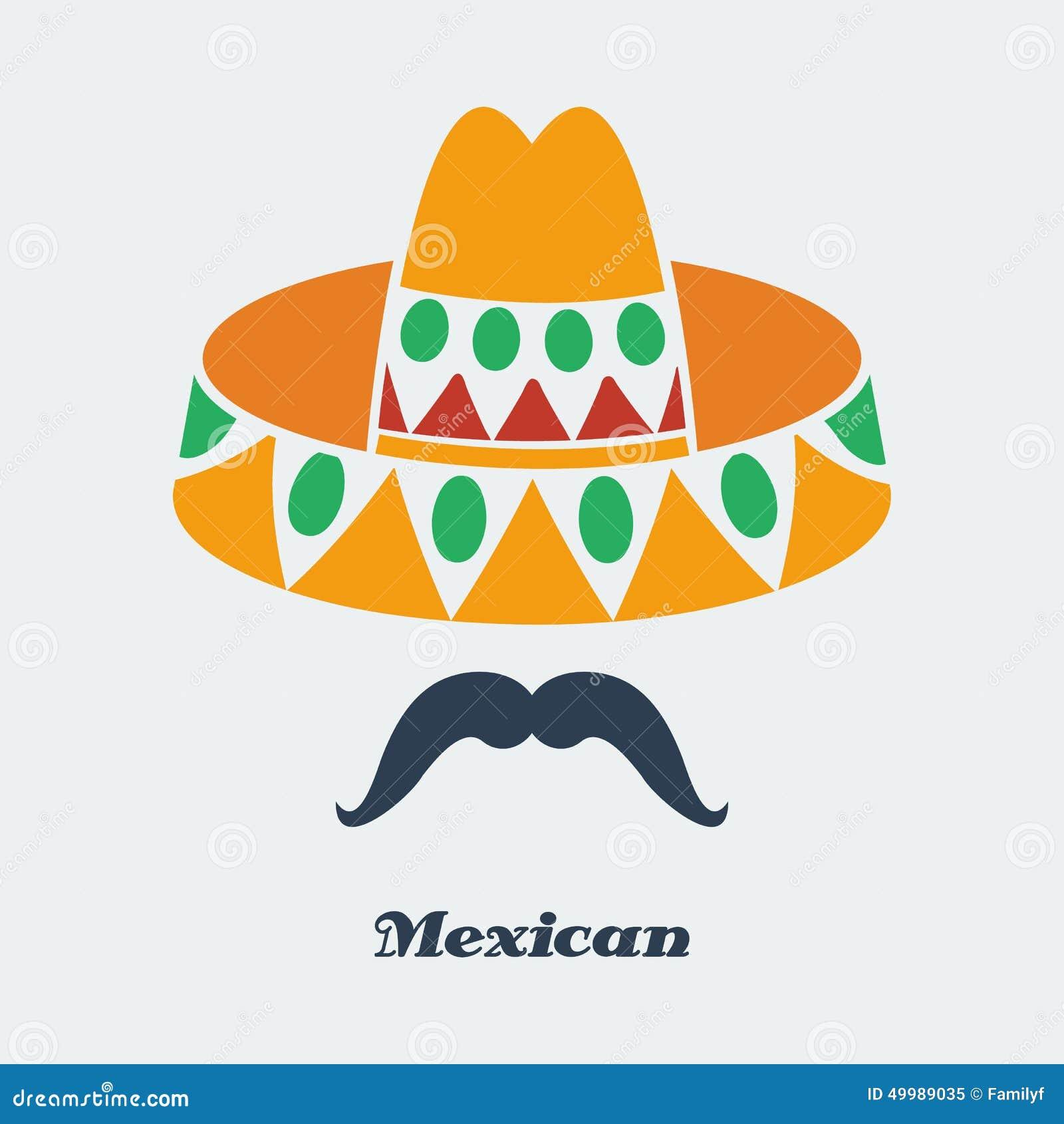 Vector Mexican Stock Vector - Image: 49989035