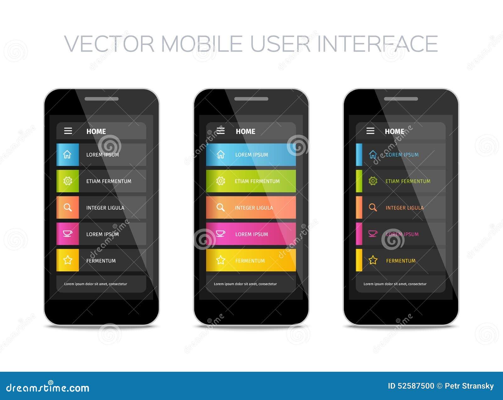 user interface user manual