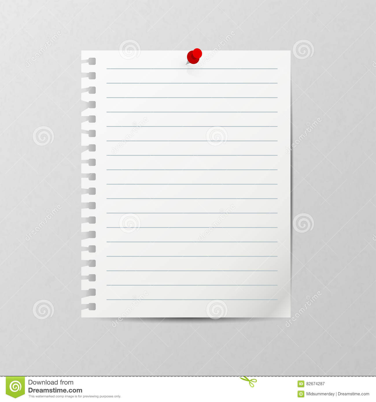 Template For Notebook Paper Free Printable Notebook Paper – Notebook Paper Template for Word