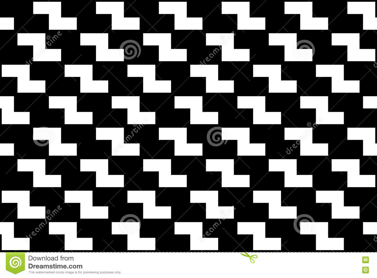 Black bed sheets pattern - Vector Modern Abstract Geometry Tetris Pattern Black And White Seamless Geometric Background