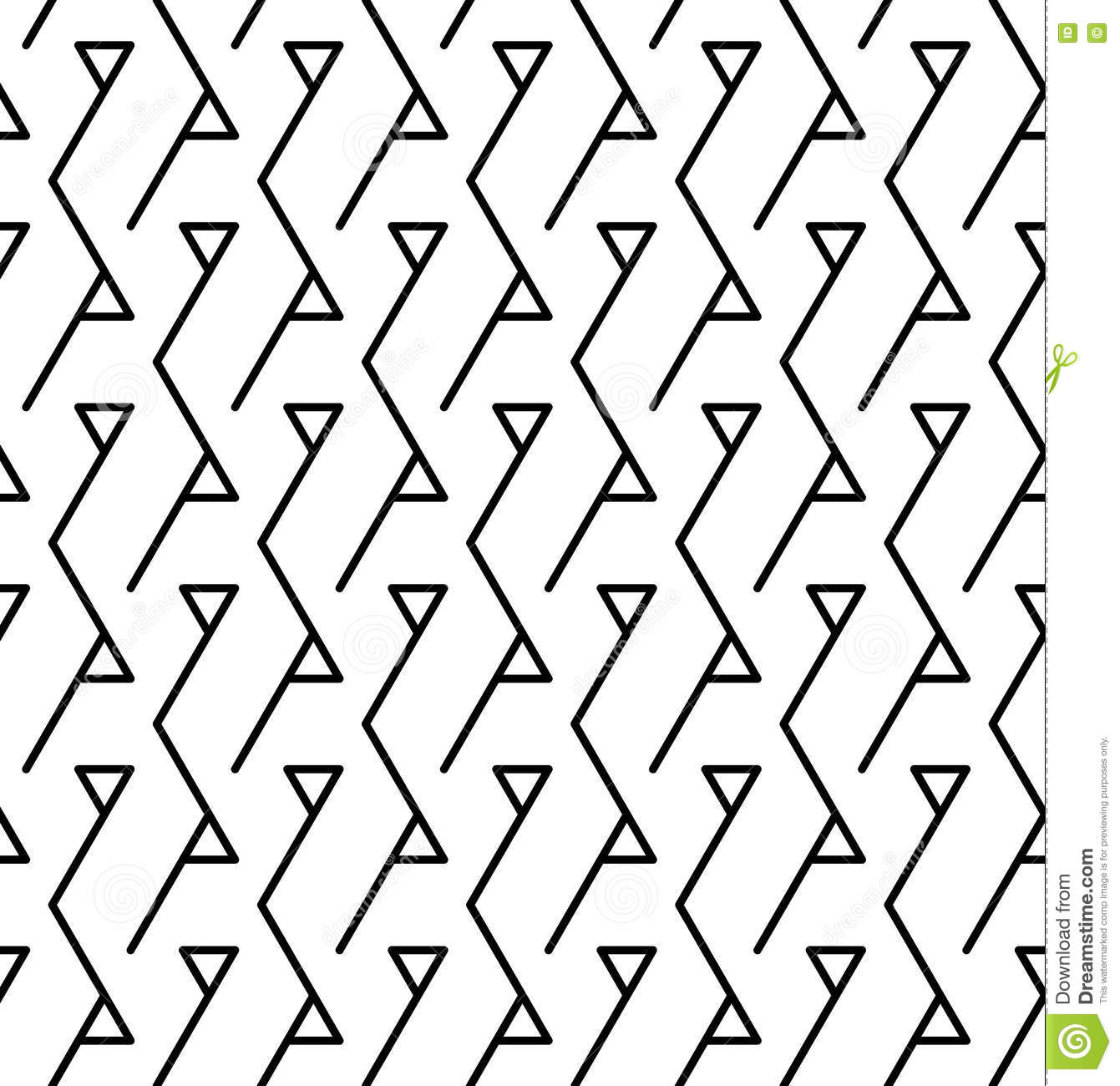 modern black white. Vector Modern Abstract Geometry Triangle Pattern. Black And White Seamless Geometric Background L