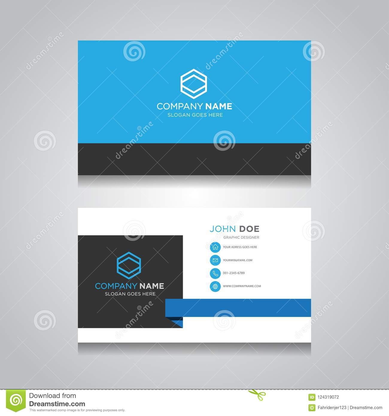 Business card template creative business card stock vector download business card template creative business card stock vector illustration of layout creative reheart Images
