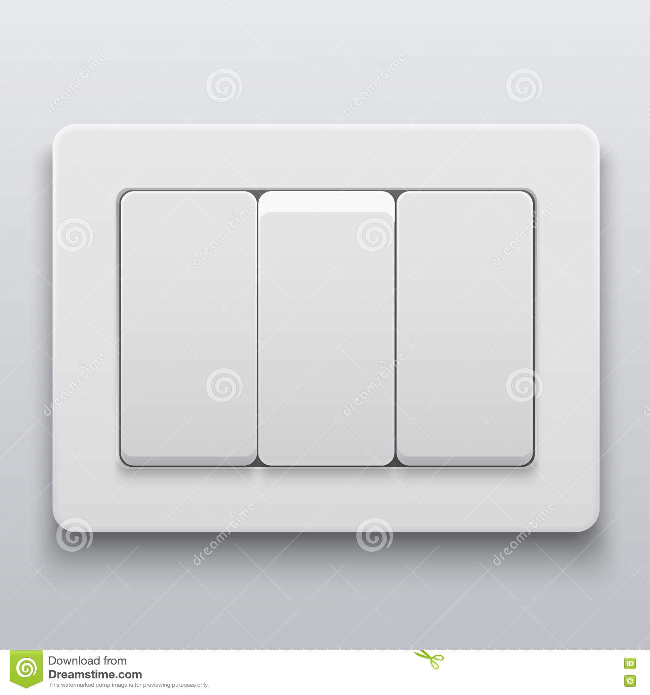 Vector Modern Light Switch Icon Background Stock Vector ...
