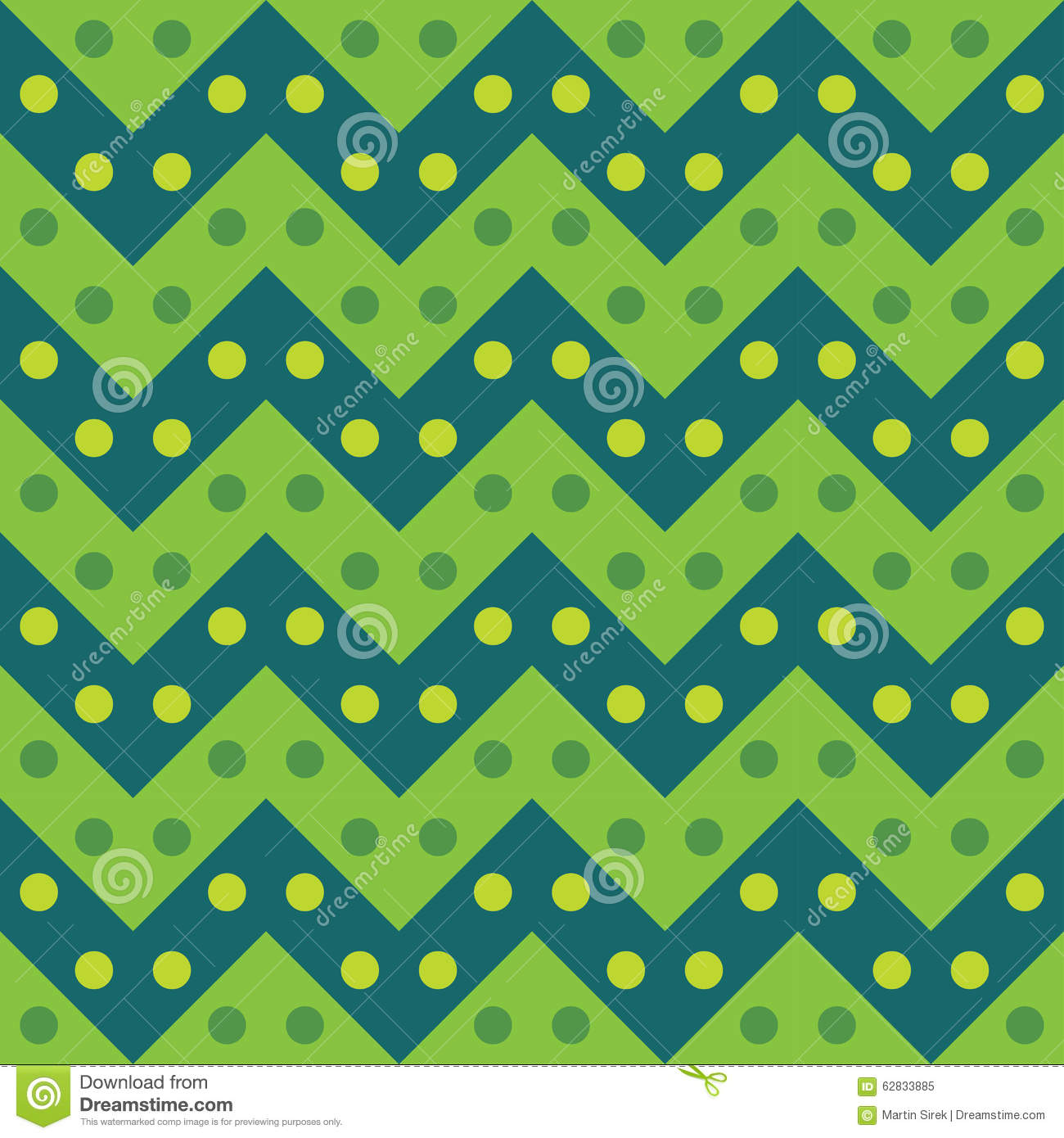 Vector Modern Seamless Colorful Geometry Chevron Lines