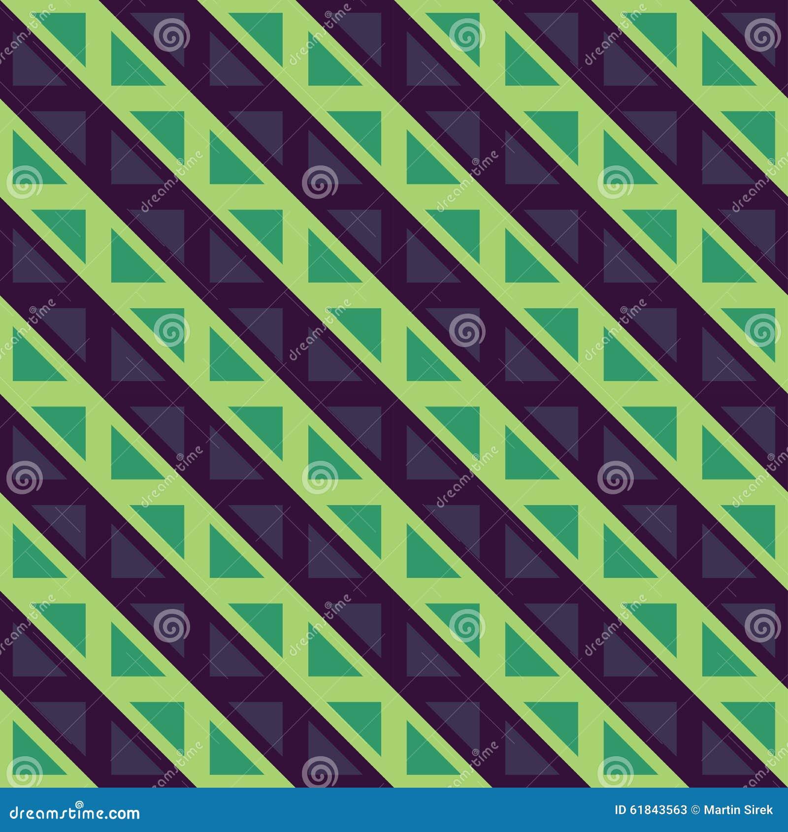 Blue Green Retro Abstract Vector Illustration