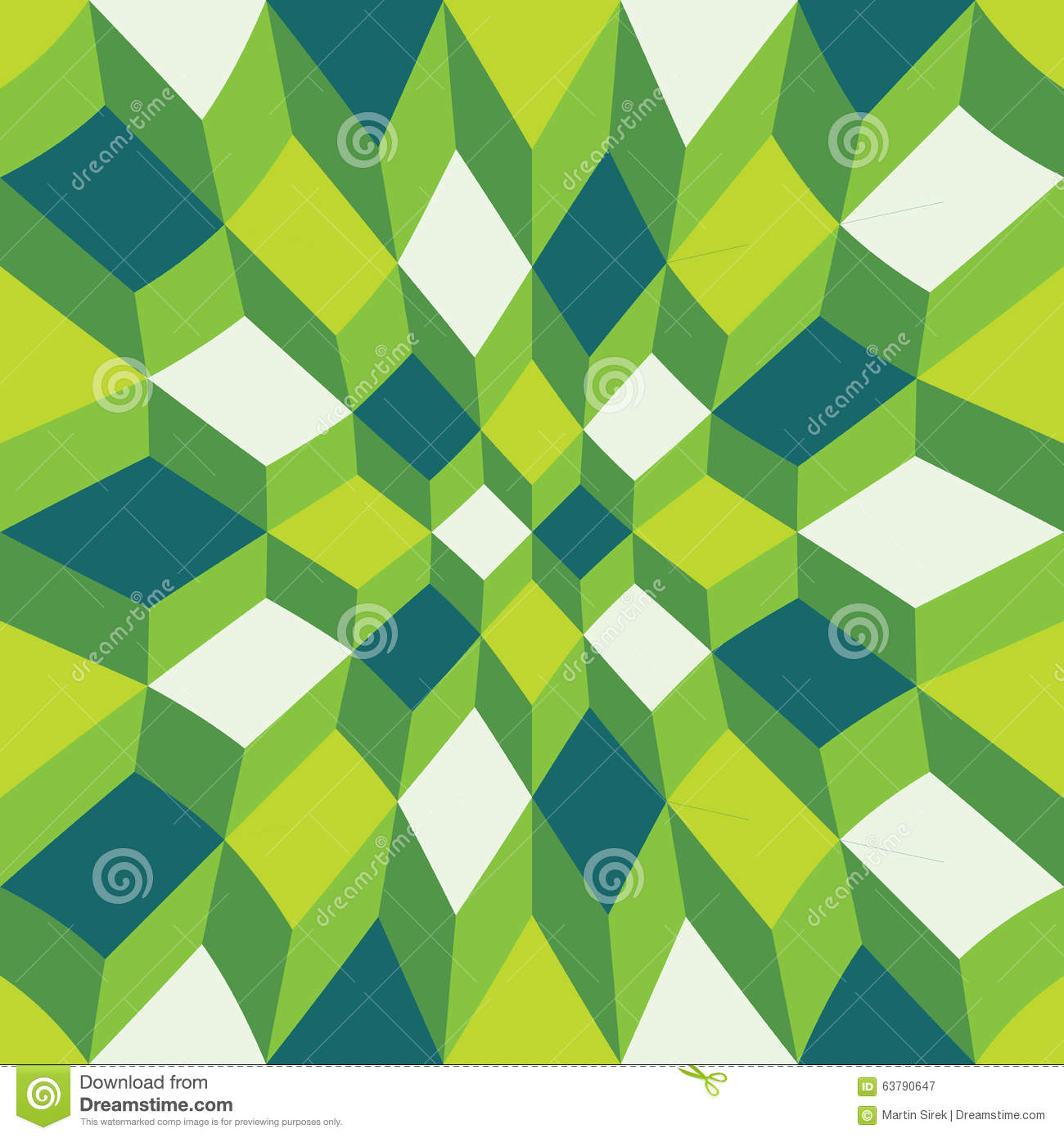 Vector modern seamless colorful geometry pattern color for Object pool design pattern