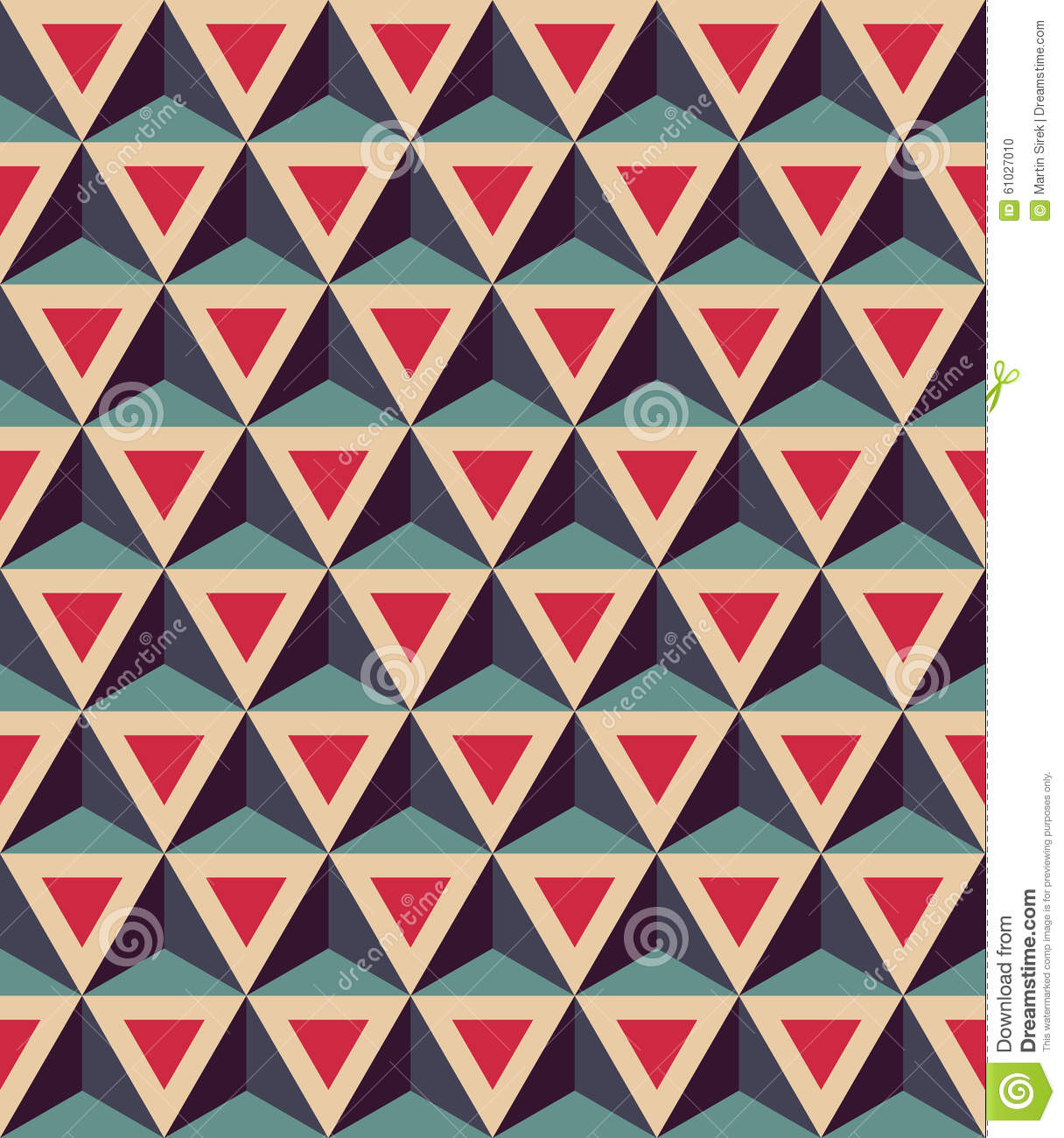 vector modern seamless colorful geometry pattern 3d