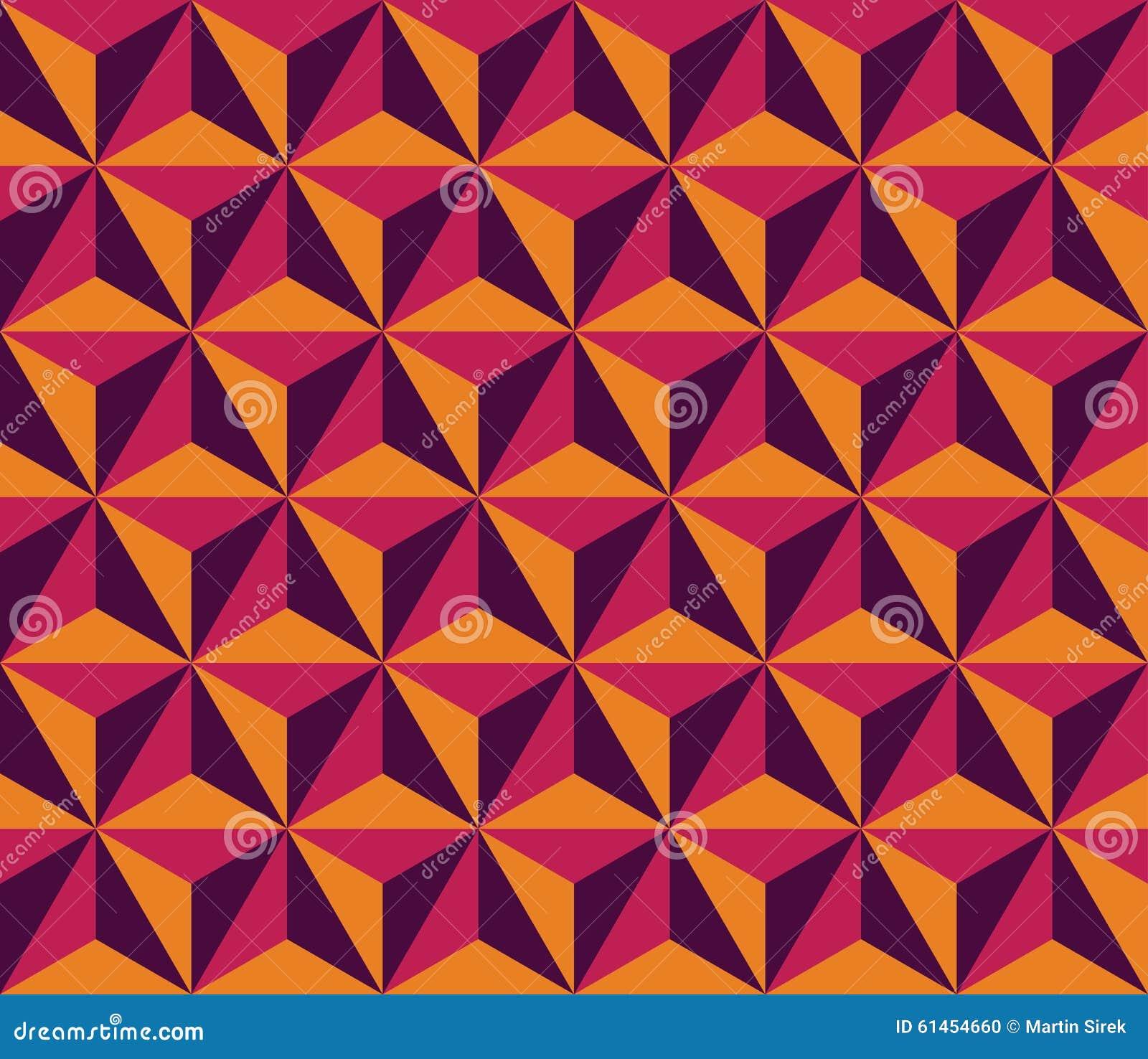 Vector Modern Seamless Colorful Geometry Triangle Hexagon ...