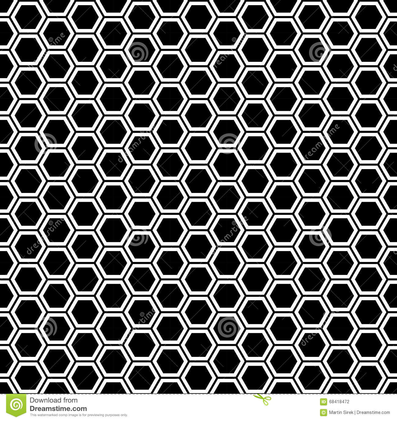 how to draw honeycomb pattern
