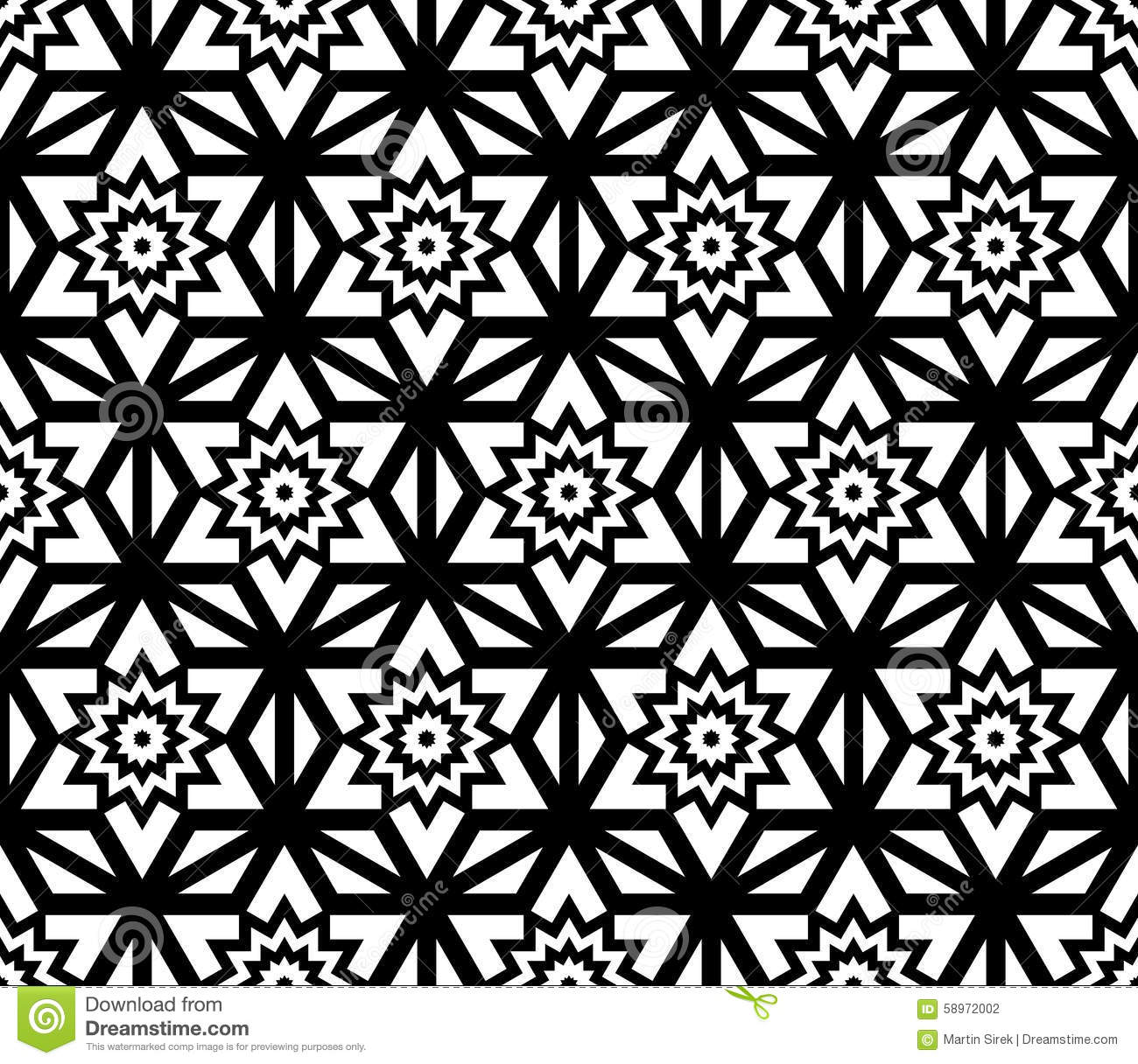 Bed sheets texture seamless - Vector Modern Seamless Pattern Geometry