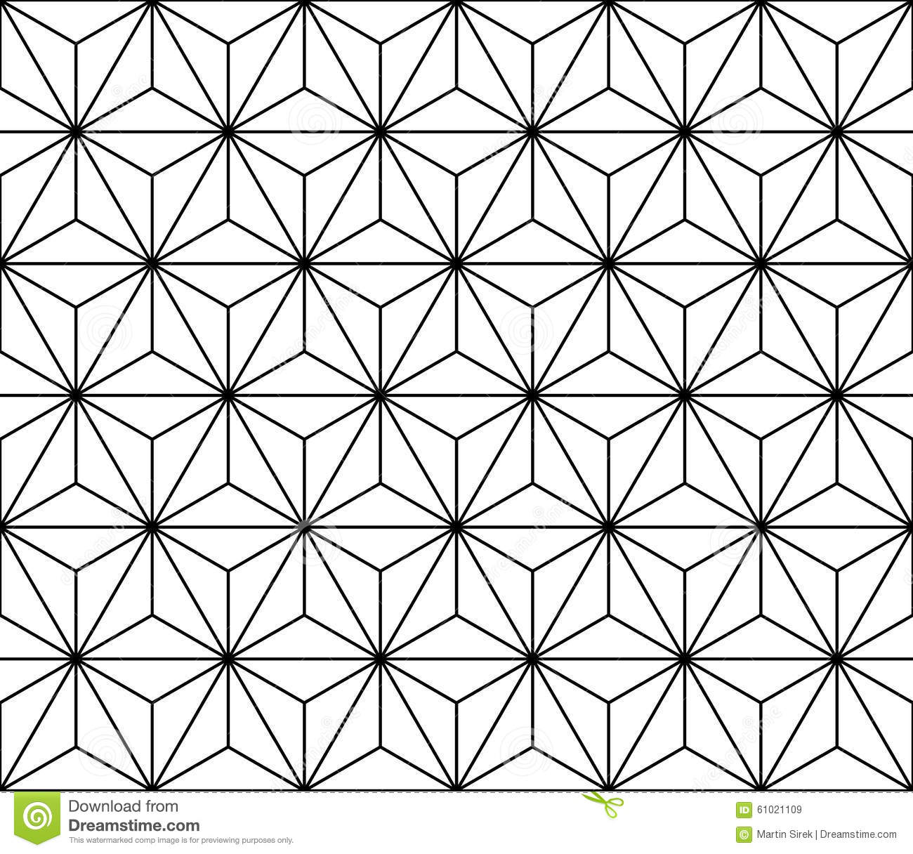 Elegant Download Vector Modern Seamless Sacred Geometry Pattern, Black And White  Abstract Stock Vector   Illustration