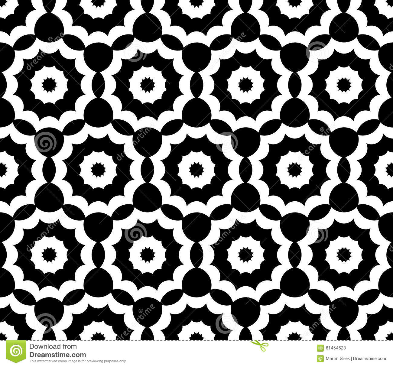 Vector Modern Seamless Sacred Geometry Pattern Floral ...