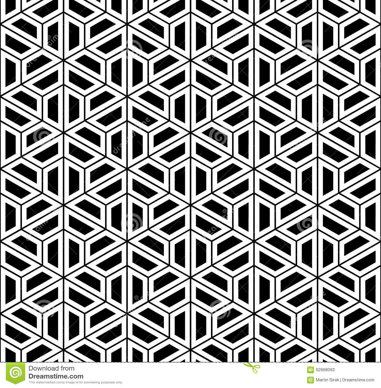 Vector Modern Seamless Sacred Geometry Pattern Hexagon