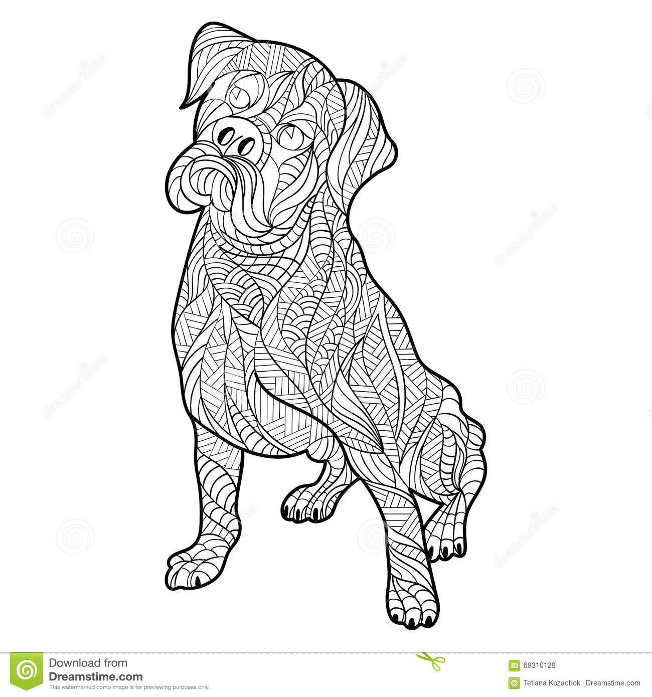 baby boxers coloring pages - photo #50