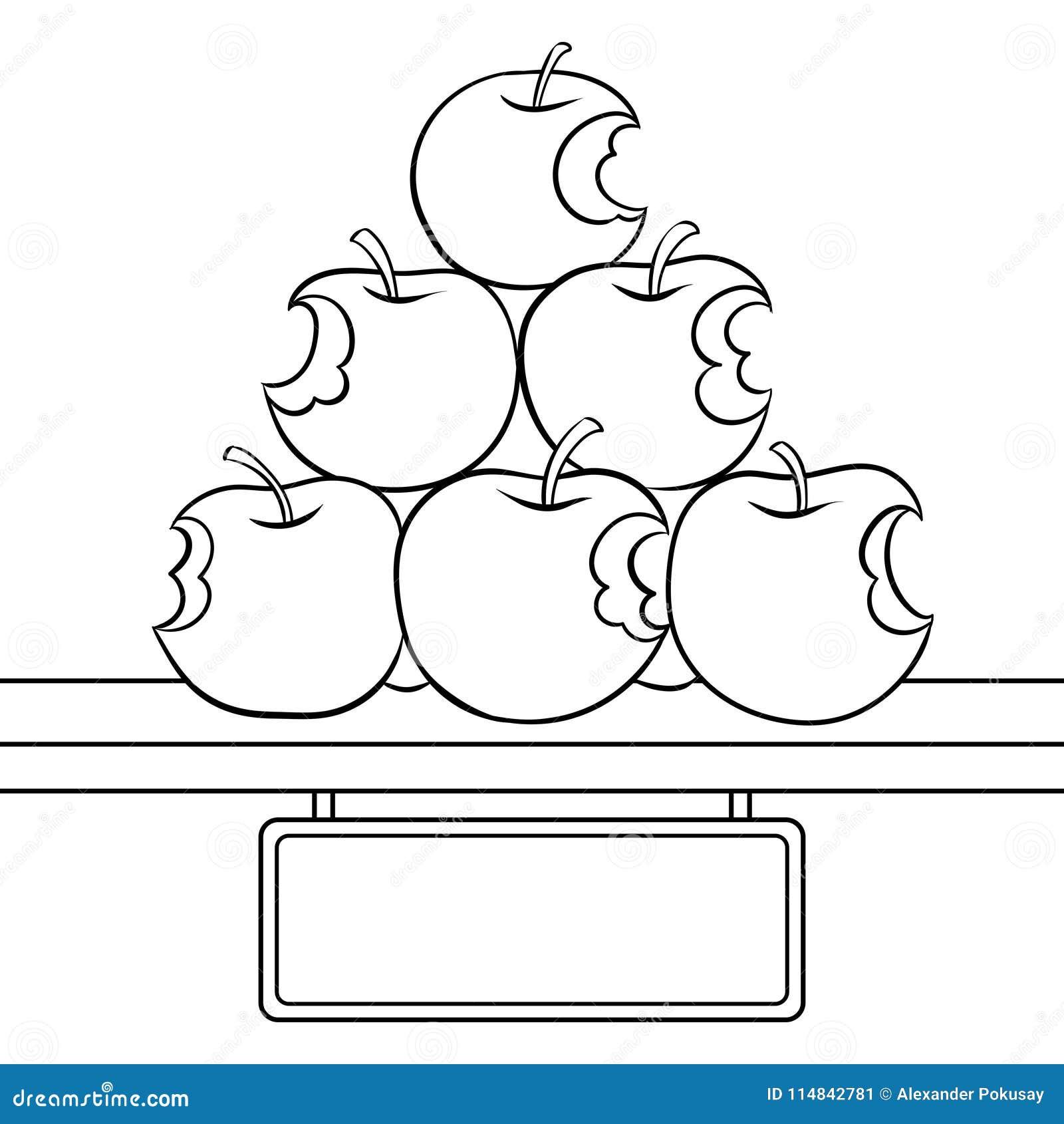 Moderno Colorear Manzanas Viñeta - Ideas Para Colorear ...
