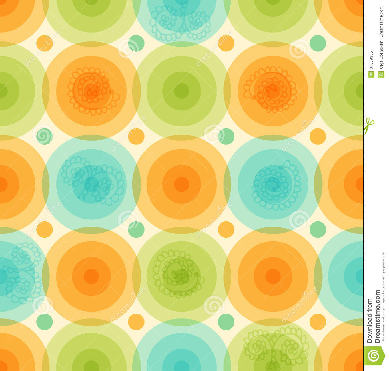 Vector Multicolor Background Pattern With Glossy Circles Geometric ...