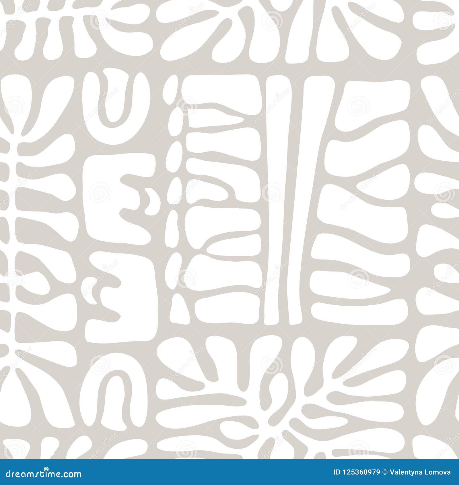 Vector naadloos patroon met inbegrip van etnische Australische beweging veroorzakend met typische elementen