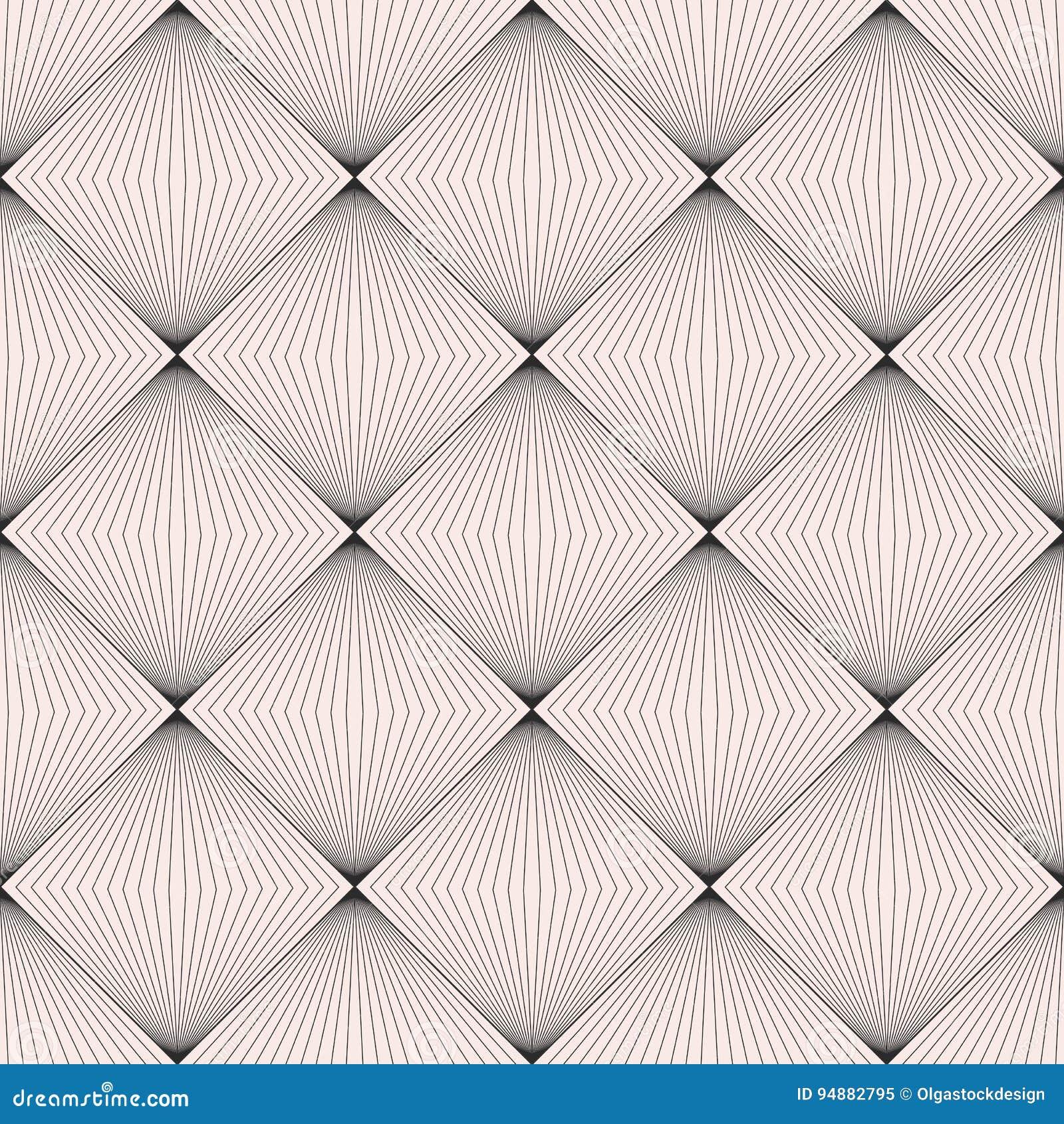 Vector naadloos patroon, subtiele textuur, dunne lijnen, vierkanten, op