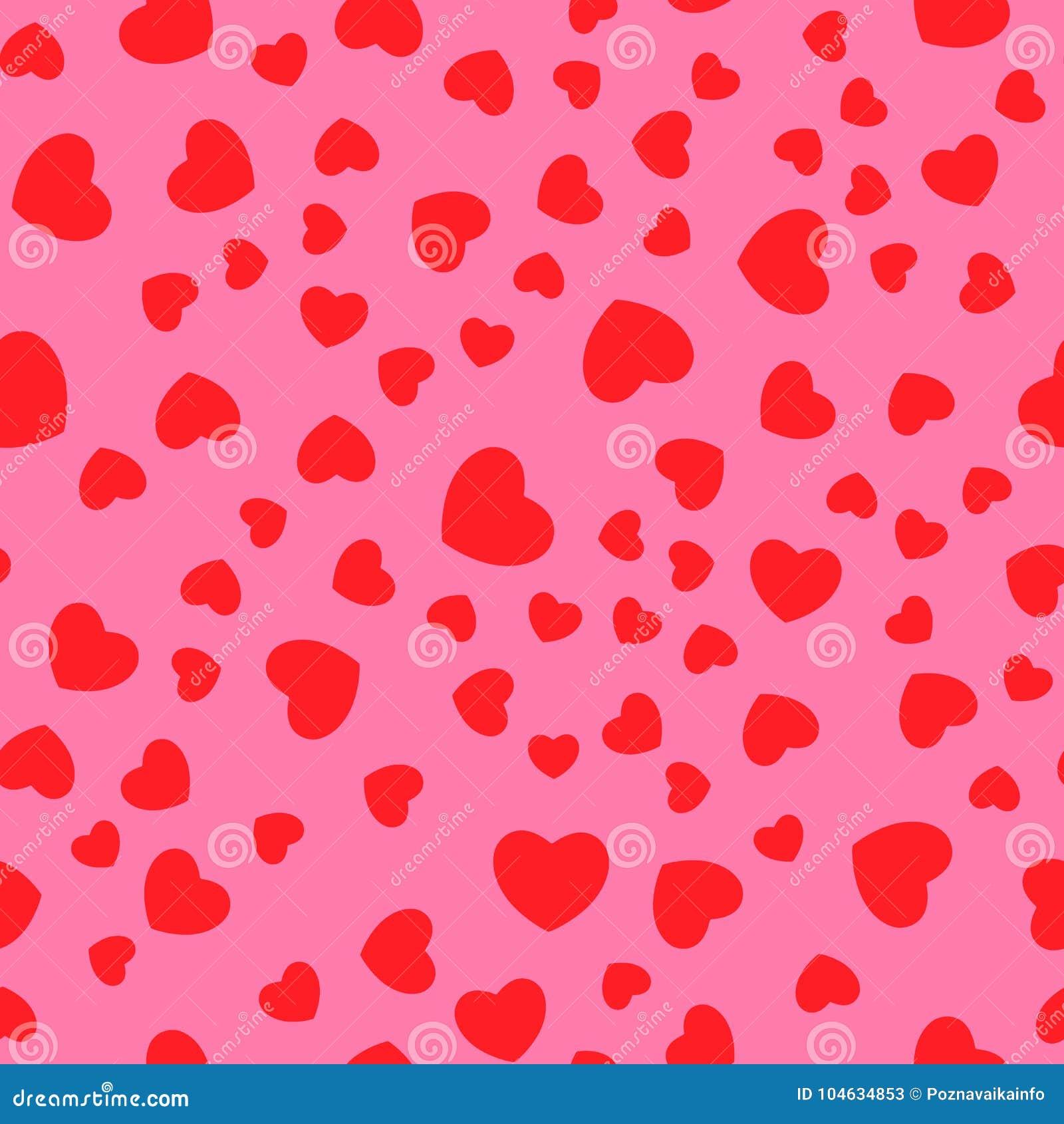 Download Vector Naadloos Retro Patroon, Harten Kan Voor Behang Worden Gebruikt, Campets, Vult Het Patroon, Web-pagina Achtergrond, Oppervl Vector Illustratie - Illustratie bestaande uit hand, achtergrond: 104634853