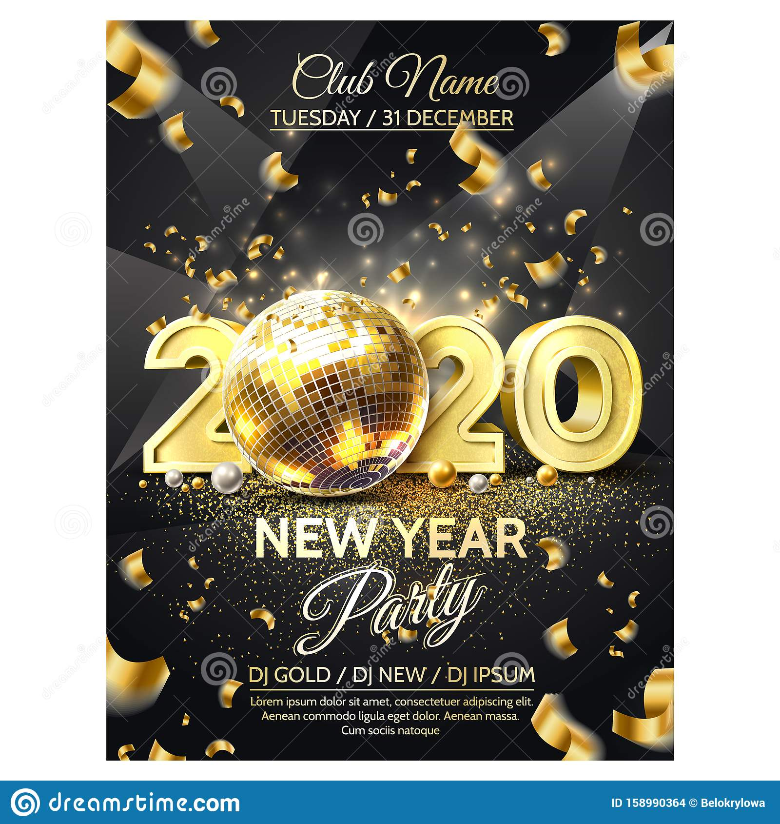 new year party stock illustrations 350 392 new year party stock illustrations vectors clipart dreamstime https www dreamstime com vector new year party golden disco ball luxury new year party poster realistic disco ball d golden numbers traditional winter image158990364