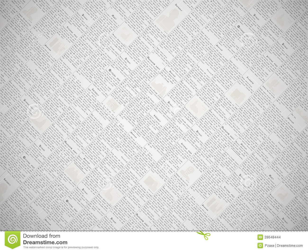 vector newspaper with background stock vector - illustration of