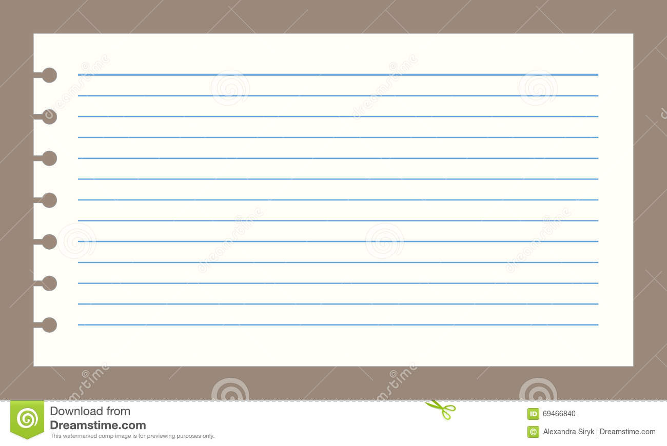 vector notebook paper stock vector. illustration of texture - 69466840