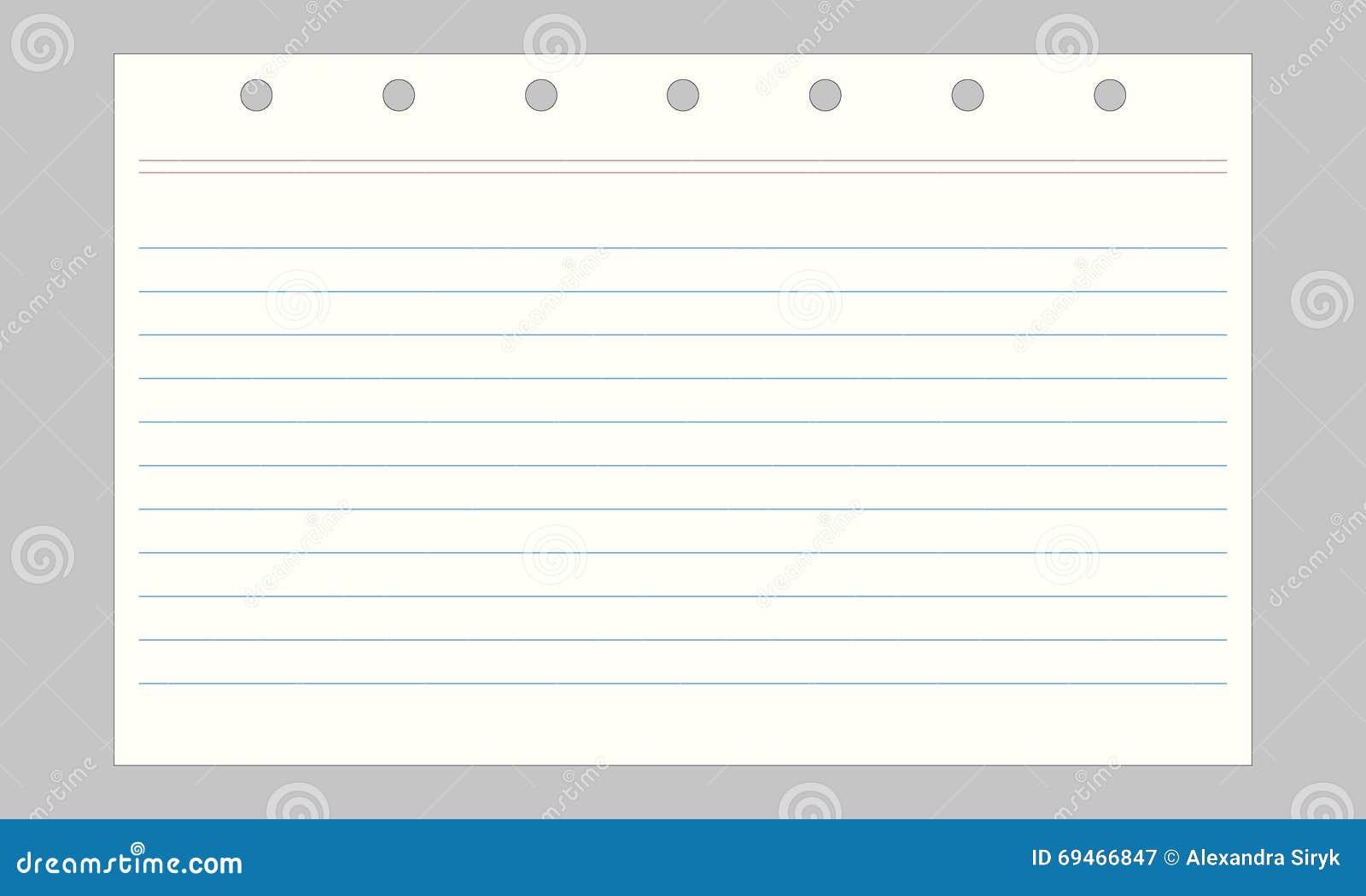 Vector notebook paper stock vector illustration of background download comp altavistaventures Image collections