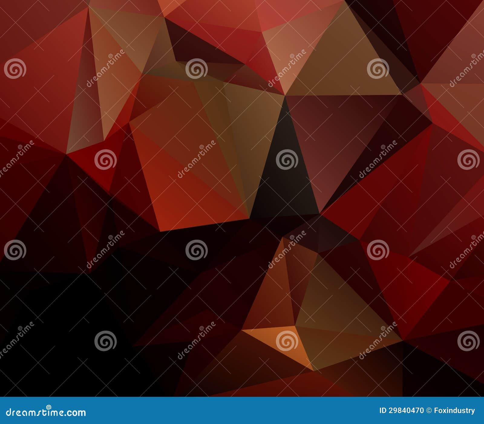 Fundo geométrico preto vermelho eps 10