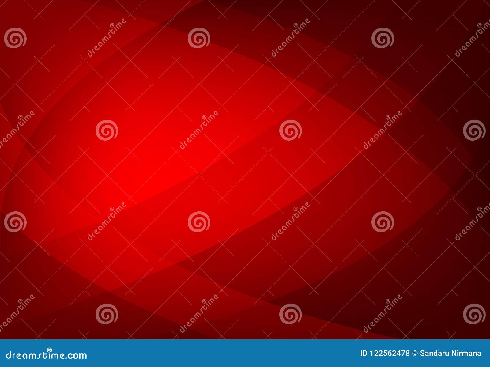 Vector o fundo ondulado geométrico abstrato da cor vermelha, papel de parede para todo o projeto