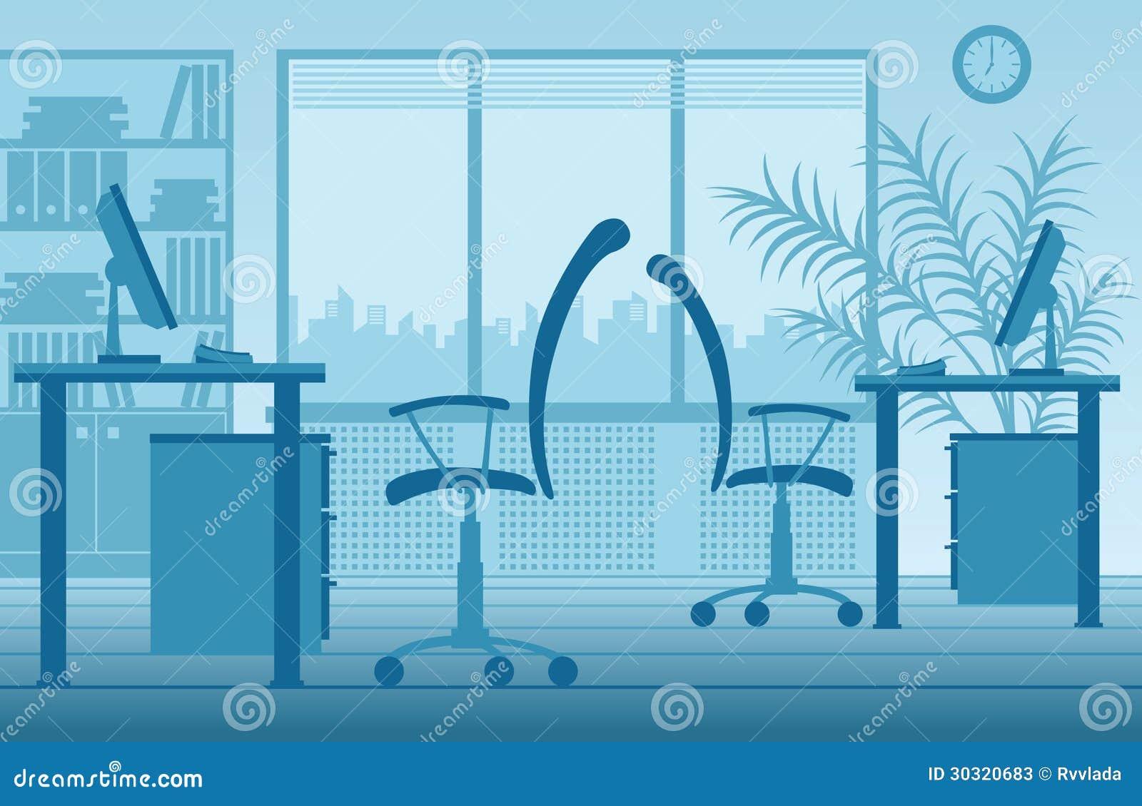 vector office interior stock photos