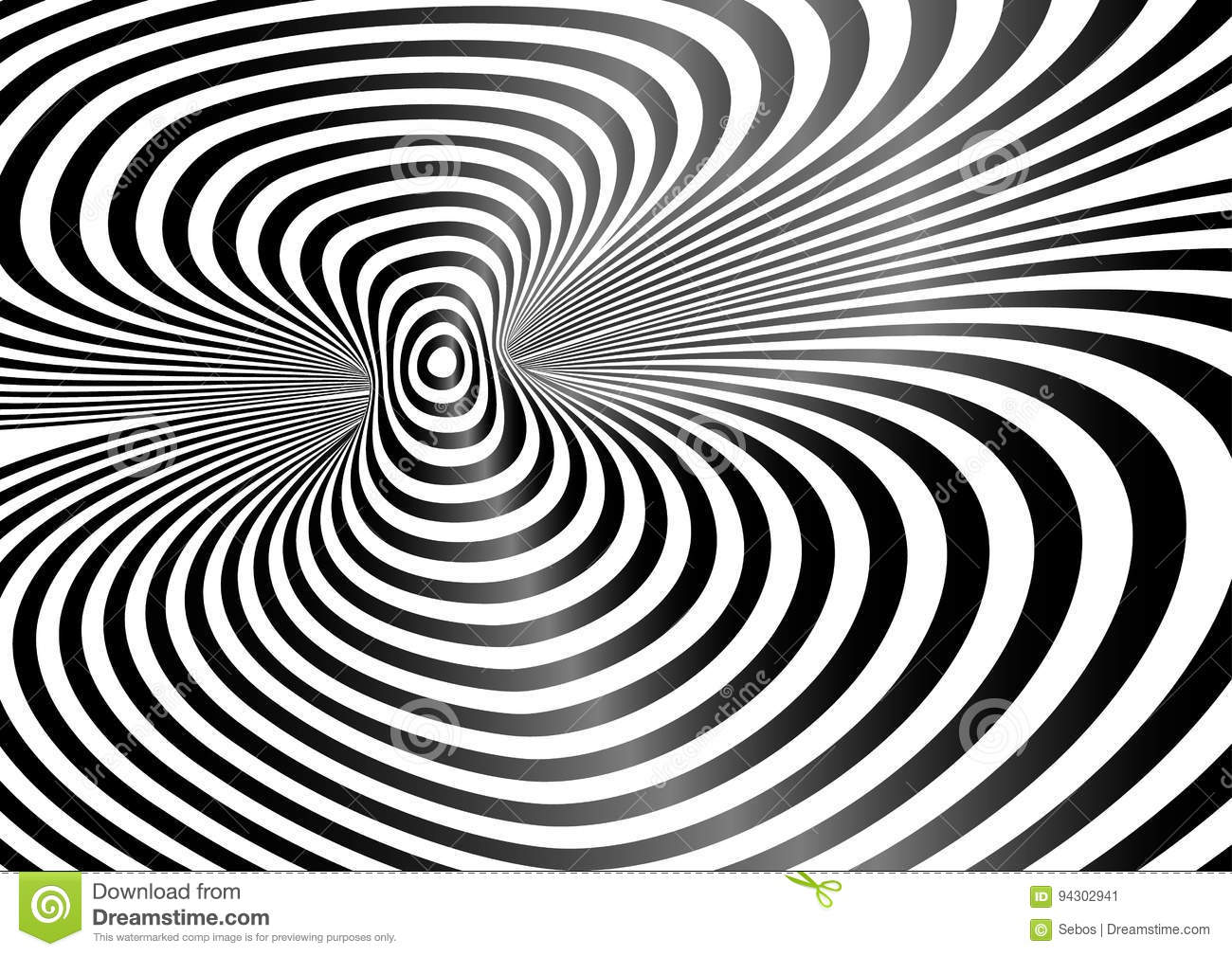 Line Design Op Art : Black white op art patterns creative market