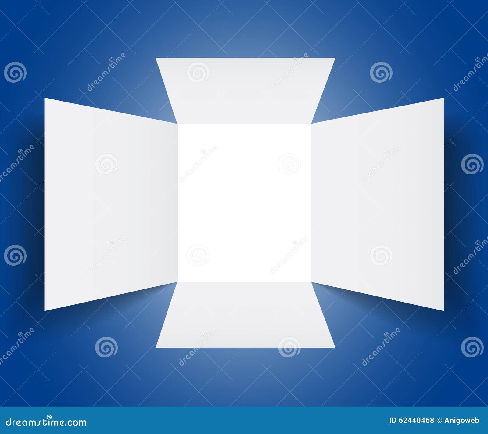 vector open box template stock illustration image 62440468. Black Bedroom Furniture Sets. Home Design Ideas