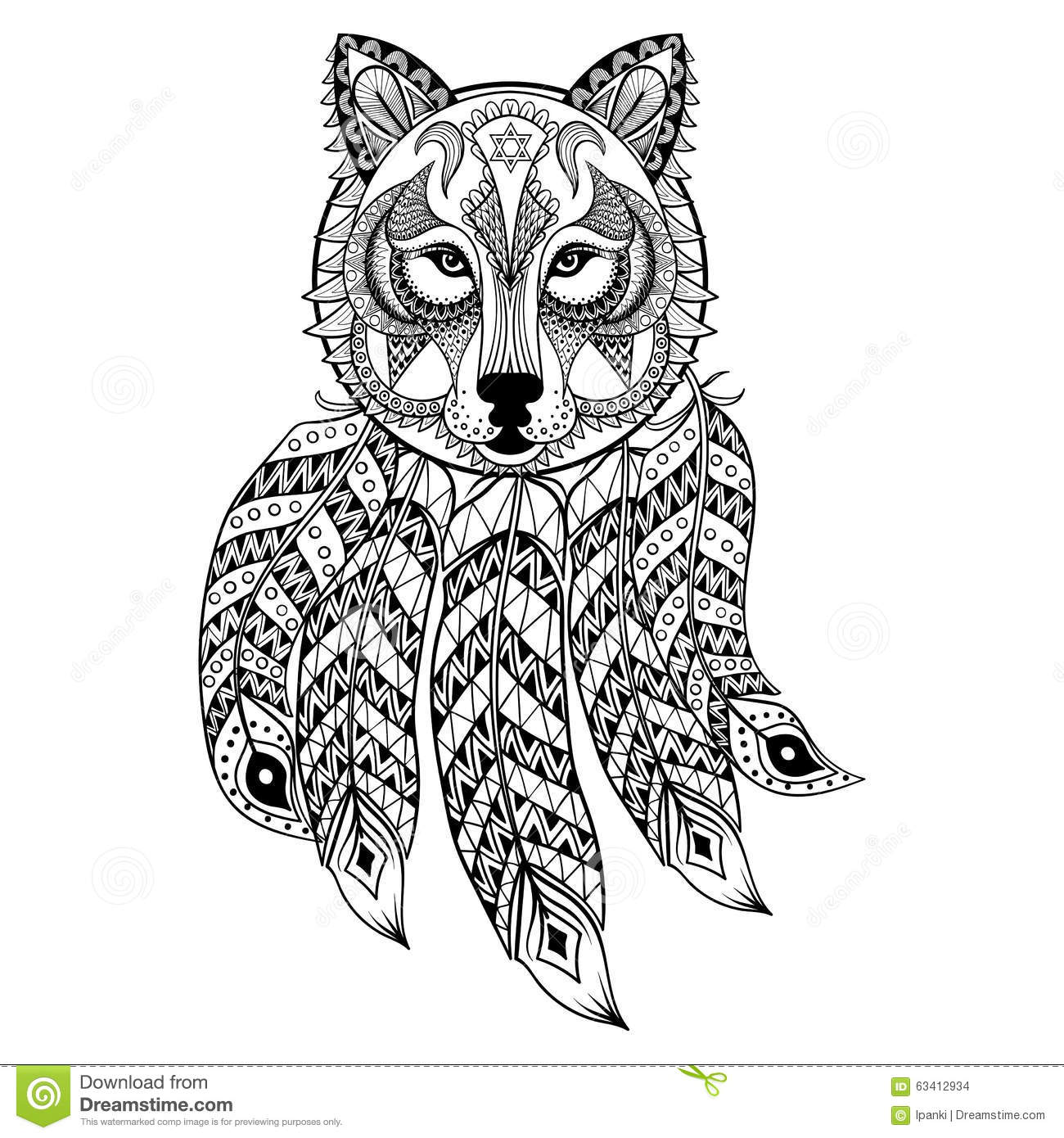 Stress Coloring Pages Animals : Anti stress animal coloring pages