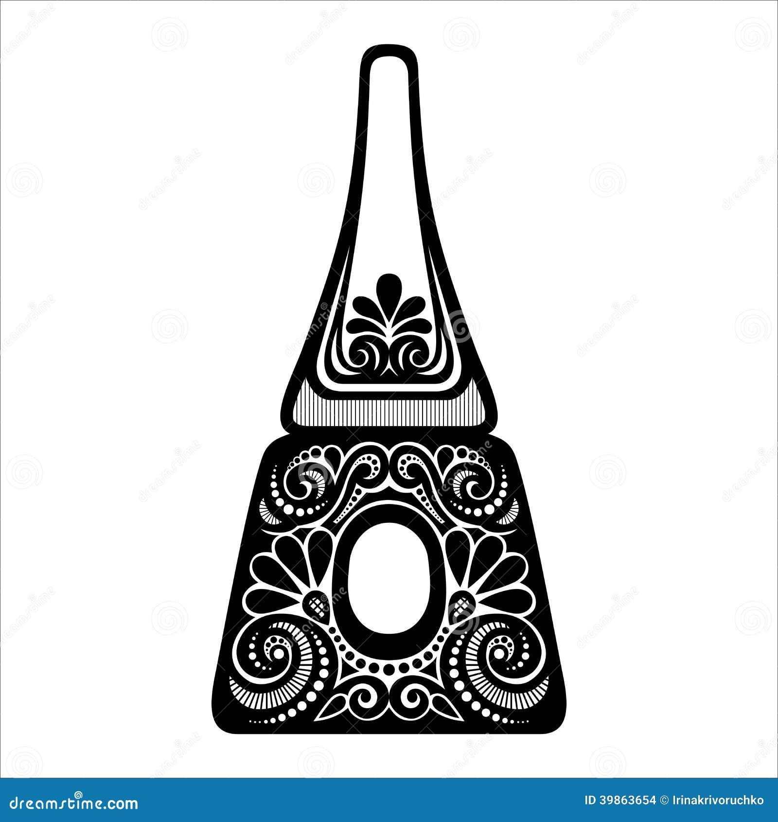 Fingernail designs vector