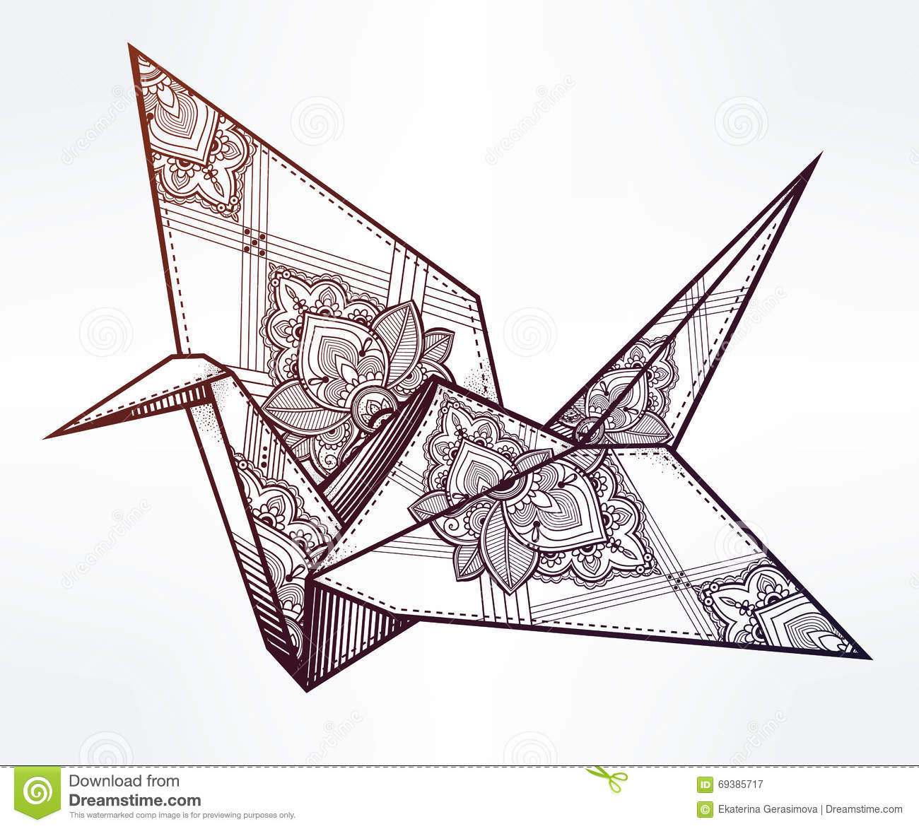 How to Make an Origami Bird Base: 13 Steps (with Pictures) | 1173x1300