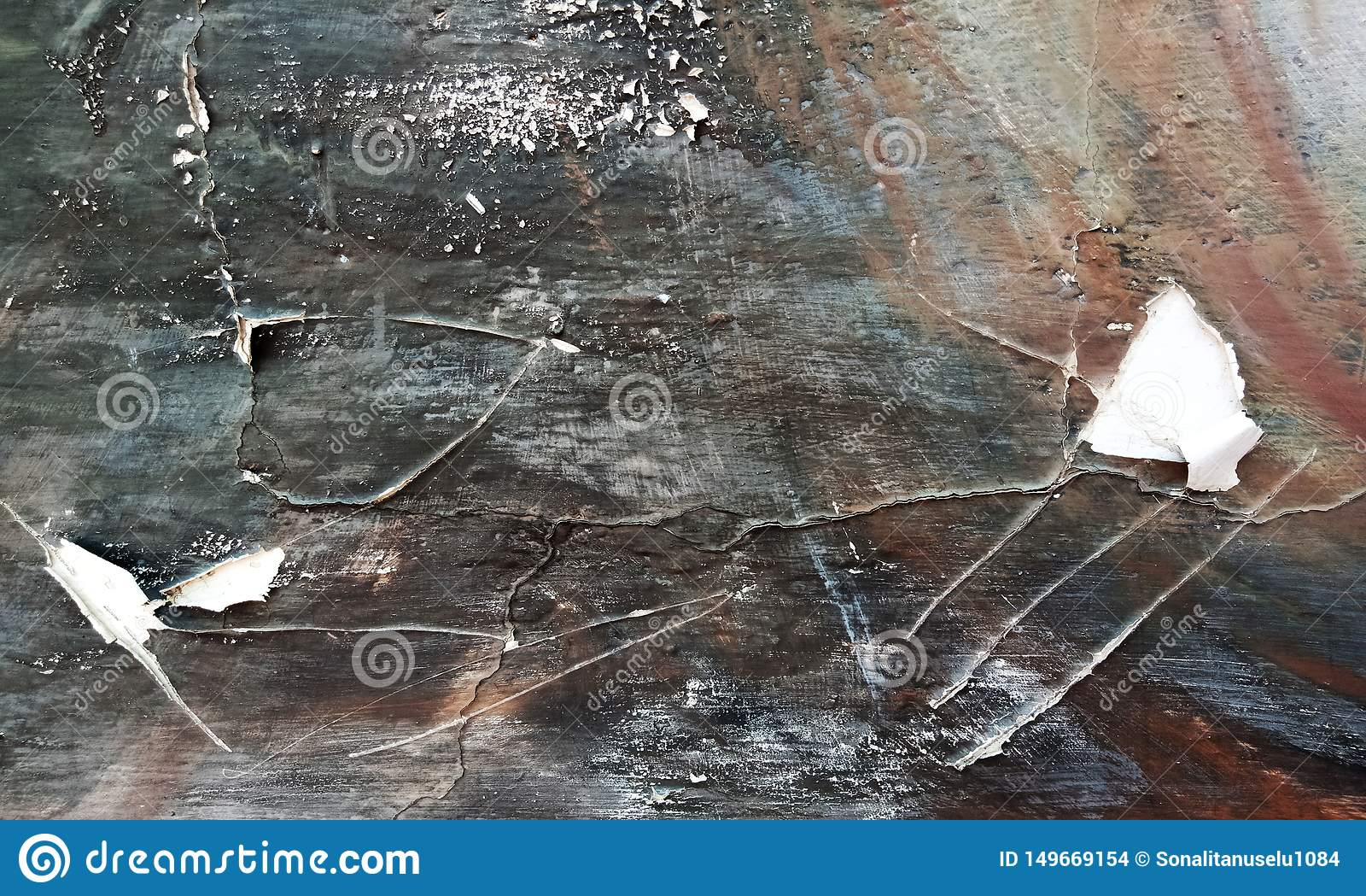 Vector Oude Grunge-Muurtextuur van concrete vloerachtergrond voor verwezenlijkingssamenvatting