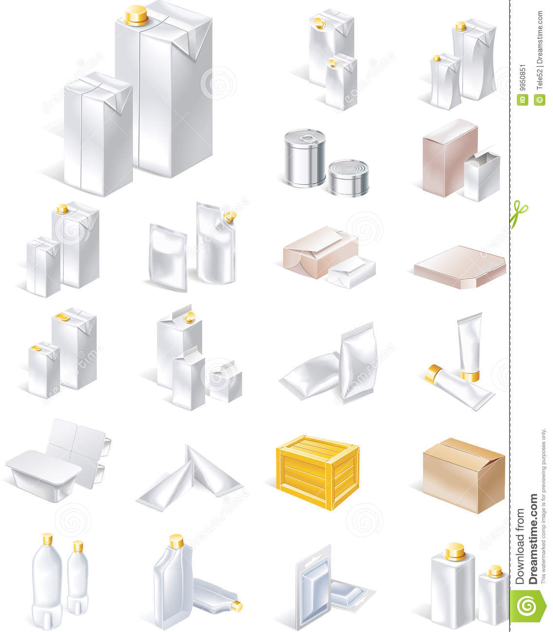 vector packaging icon set stock vector illustration of collection rh dreamstime com vector packaging europe vector packaging box