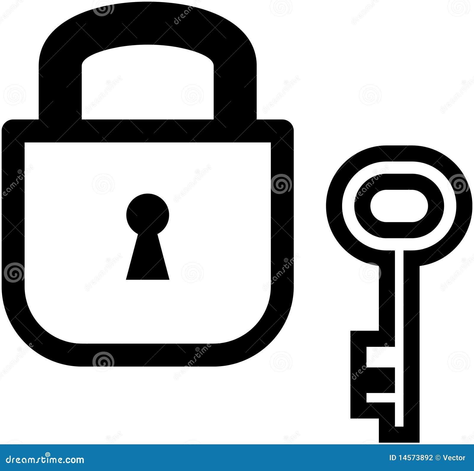 padlock and key clipart - photo #16