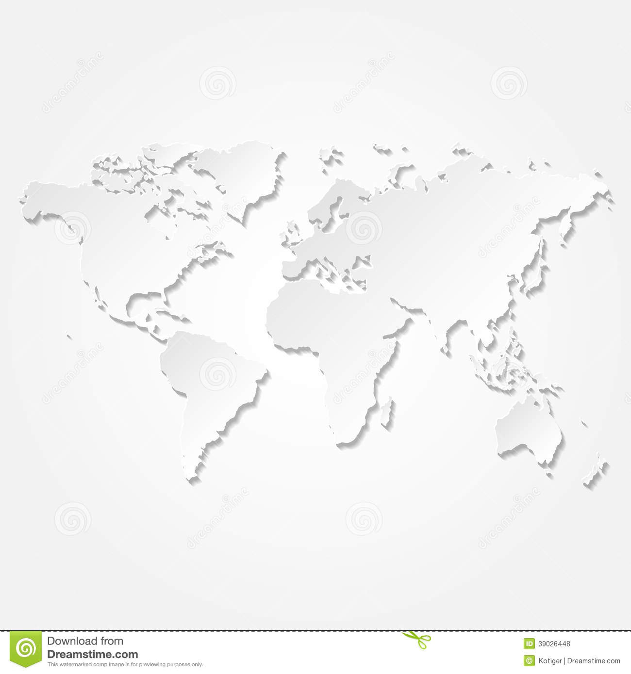 Vector paper 3d world map card stock vector illustration of vector paper 3d world map card royalty free stock photo gumiabroncs Image collections
