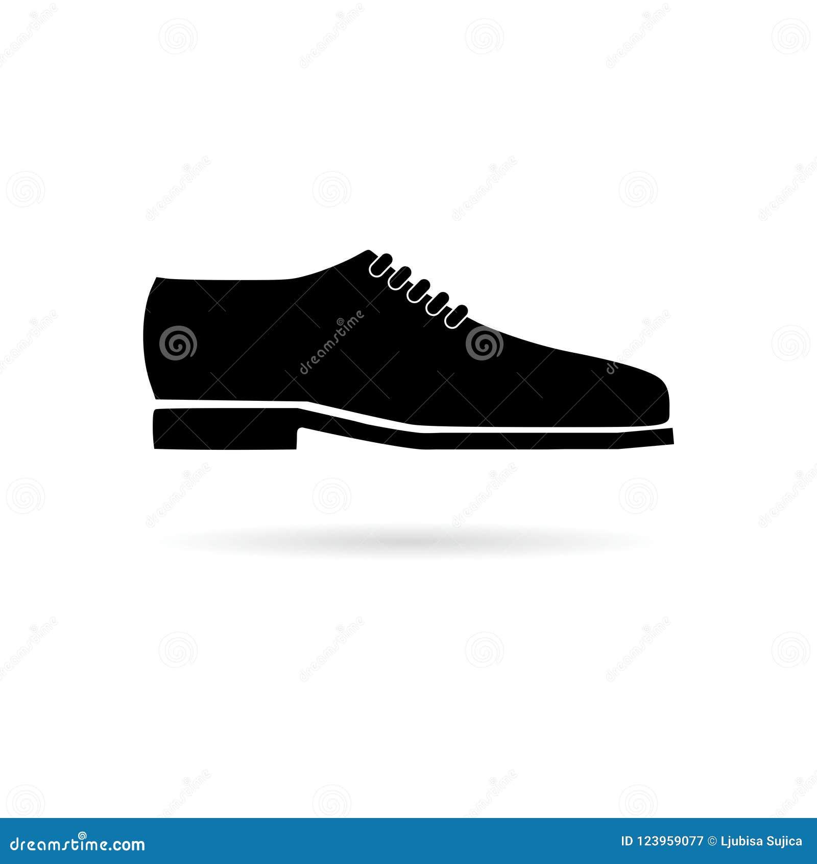 31dc5d7c78d Vector Para Hombre Del Zapato De Vestir Aislado Ilustración del ...